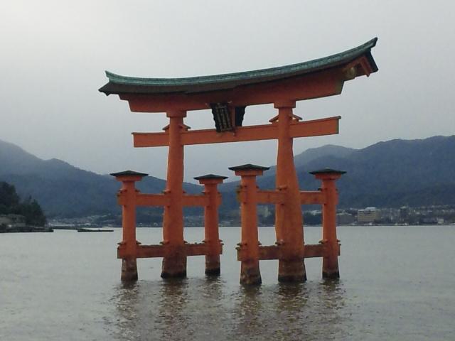 厳島神社!